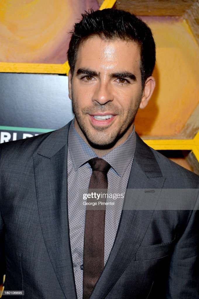 Filmmaker <a gi-track='captionPersonalityLinkClicked' href=/galleries/search?phrase=Eli+Roth&family=editorial&specificpeople=543948 ng-click='$event.stopPropagation()'>Eli Roth</a> attends the SodaStream presents The Worldview Party at Live at the Hive during the 2013 Toronto International Film Festival on September 8, 2013 in Toronto, Canada.