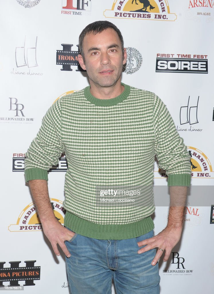 Filmmaker Eliav Lilti attends the opening night party for the 2013 First Time Fest at The Players Club on March 1, 2013 in New York City.