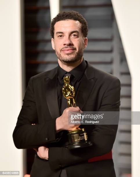 Filmmaker Ezra Edelman attends the 2017 Vanity Fair Oscar Party hosted by Graydon Carter at Wallis Annenberg Center for the Performing Arts on...