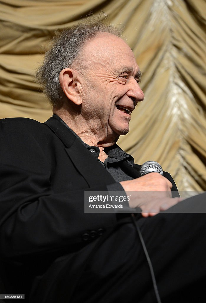 Filmmaker Frederick Wiseman attends the Film Independent at LACMA - Spotlight on Frederick Wiseman event at Bing Theatre At LACMA on January 11, 2013 in Los Angeles, California.