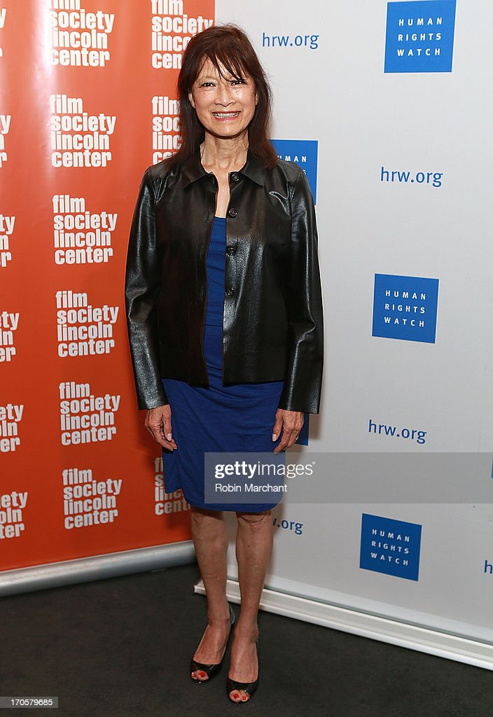 Filmmaker Freida Mock attends the 'Anita' Premiere during the 2013 Human Rights Watch Film Festival at The Film Society of Lincoln Center, Walter Reade Theatre on June 14, 2013 in New York City.