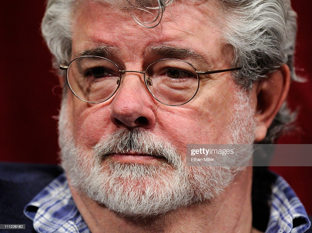 Filmmaker George Lucas attends a digital filmmakers forum at Caesars Palace during CinemaCon, the official convention of the National Association of Theatre Owners, March 30, 2011 in Las Vegas, Nevada.