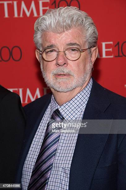 Filmmaker George Lucas attends the 2015 Time 100 Gala at Frederick P Rose Jazz Hall at Lincoln Center on April 21 2015 in New York City