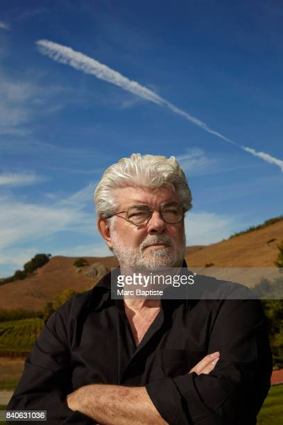 Filmmaker George Lucas photographed for Washington Post on October 8 in Nicasio California