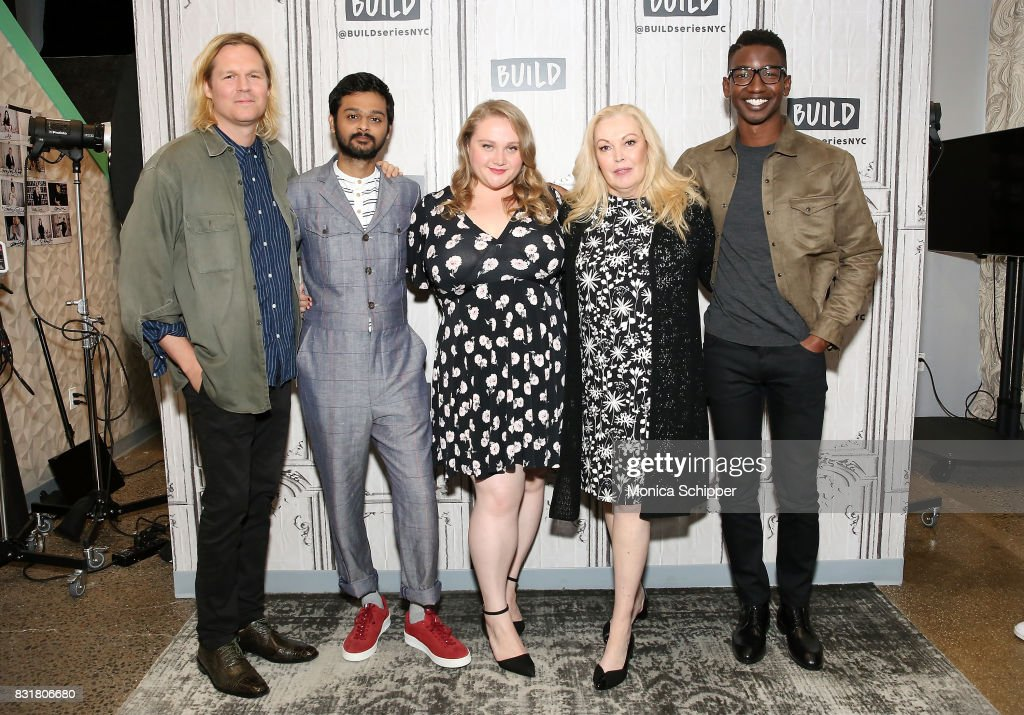 Filmmaker Geremy Jasper, and actors Siddharth Dhananjay, Danielle Macdonald, Cathy Moriarty and Mamoudou Athie visit Build Series to discuss the movie 'Patti Cake$' at Build Studio on August 15, 2017 in New York City.