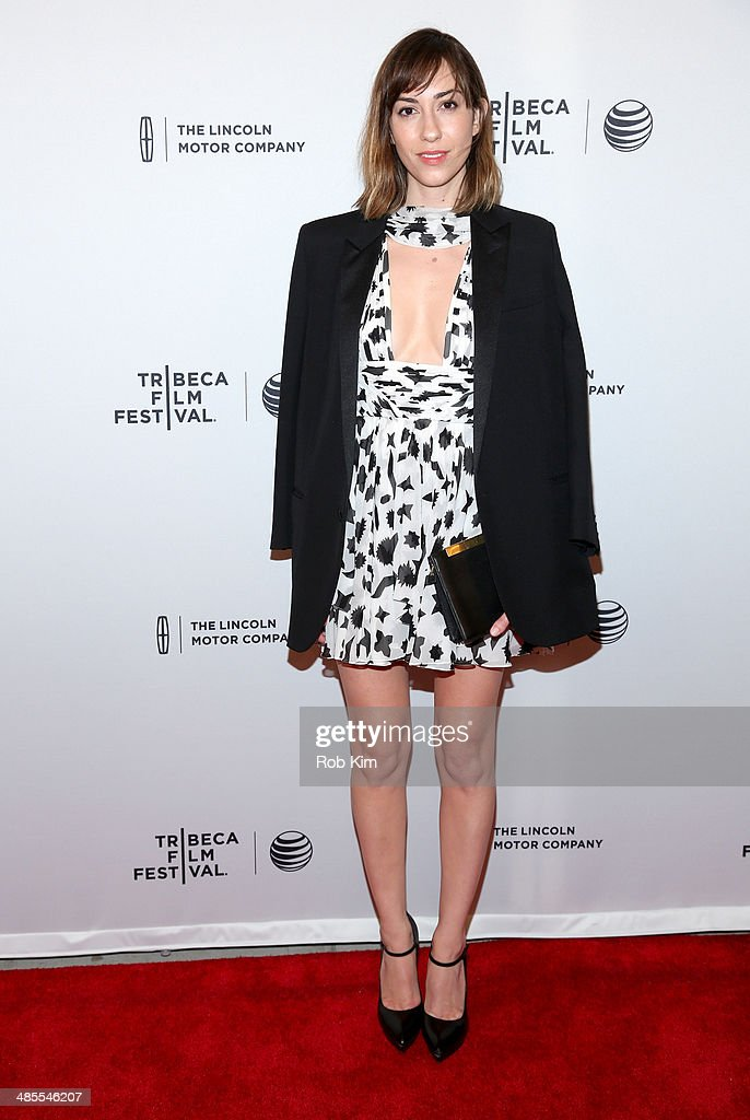 Filmmaker <a gi-track='captionPersonalityLinkClicked' href=/galleries/search?phrase=Gia+Coppola&family=editorial&specificpeople=3099216 ng-click='$event.stopPropagation()'>Gia Coppola</a> attends the 'Alex of Venice' Premiere during the 2014 Tribeca Film Festival at SVA Theater on April 18, 2014 in New York City.
