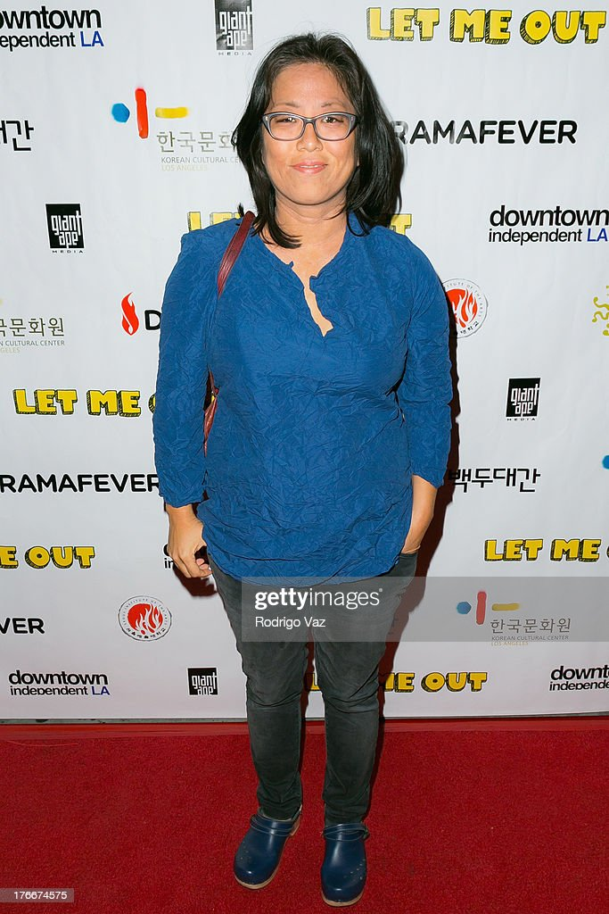 Filmmaker Grace Lee attends 'Let Me Out' Los Angeles Premiere at Downtown Independent Theatre on August 16, 2013 in Los Angeles, California.