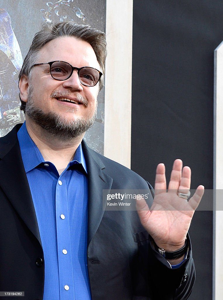 Filmmaker Guillermo del Toro arrives at the premiere of Warner Bros. Pictures' and Legendary Pictures' 'Pacific Rim' at Dolby Theatre on July 9, 2013 in Hollywood, California.