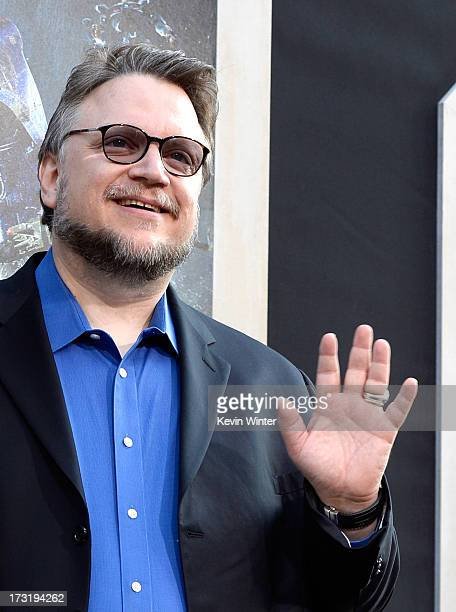 Filmmaker Guillermo del Toro arrives at the premiere of Warner Bros Pictures' and Legendary Pictures' 'Pacific Rim' at Dolby Theatre on July 9 2013...