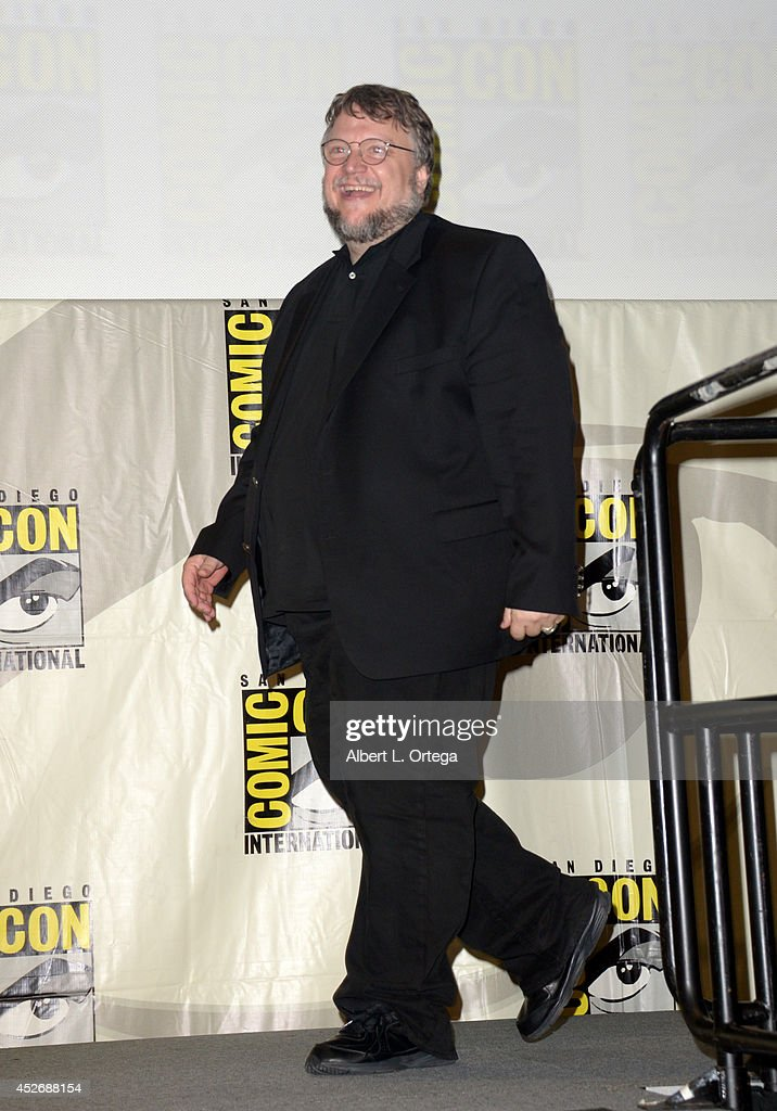 Filmmaker Guillermo del Toro attends the 20th Century Fox presentation during ComicCon International 2014 at San Diego Convention Center on July 25...