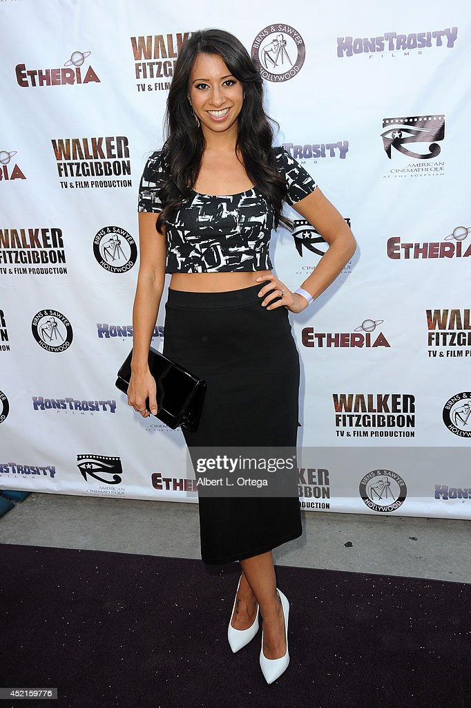 Filmmaker Helenna Santos arrives for the 2014 Etheria Film Night held at American Cinematheque's Egyptian Theatre on July 12, 2014 in Hollywood, California.