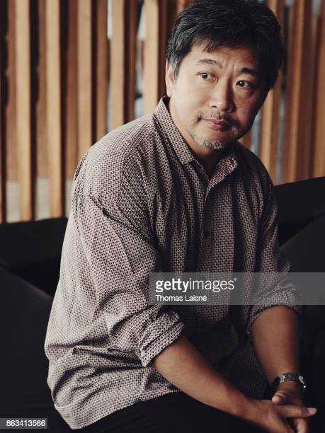 Filmmaker Hirokazu Koreeda is photographed for Self Assignment on September 4 2017 in Venice Italy