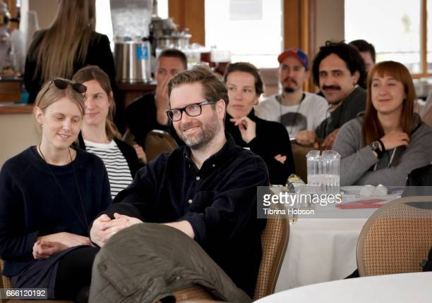 Filmmaker Jakob Rorvik attends the 2017 Aspen Shortsfest filmmakers master class on April 7 2017 at Mountain Chalet in Aspen Colorado