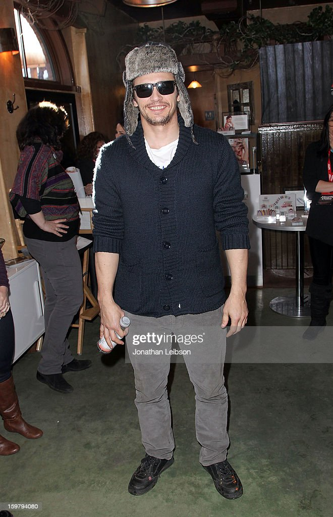 Filmmaker <a gi-track='captionPersonalityLinkClicked' href=/galleries/search?phrase=James+Franco&family=editorial&specificpeople=577480 ng-click='$event.stopPropagation()'>James Franco</a> attends Day 2 of the Variety Studio at 2013 Sundance Film Festival on January 20, 2013 in Park City, Utah.