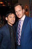 Filmmaker James Wan and actor Patrick Wilson attend the after party for the premiere of 'The Conjuring 2' during the 2016 Los Angeles Film Festival...