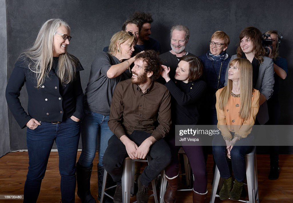 Filmmaker <a gi-track='captionPersonalityLinkClicked' href=/galleries/search?phrase=Jane+Campion&family=editorial&specificpeople=616530 ng-click='$event.stopPropagation()'>Jane Campion</a>, actress Robin Malcolm, writer Gerard Lee, filmmaker Garth Davis, actor <a gi-track='captionPersonalityLinkClicked' href=/galleries/search?phrase=Peter+Mullan&family=editorial&specificpeople=533010 ng-click='$event.stopPropagation()'>Peter Mullan</a>, producer Philippa Campbell, musician Georgi Kay, actors Thomas M. Wright, <a gi-track='captionPersonalityLinkClicked' href=/galleries/search?phrase=Elisabeth+Moss&family=editorial&specificpeople=3079265 ng-click='$event.stopPropagation()'>Elisabeth Moss</a>, and <a gi-track='captionPersonalityLinkClicked' href=/galleries/search?phrase=Holly+Hunter&family=editorial&specificpeople=201880 ng-click='$event.stopPropagation()'>Holly Hunter</a> pose for a portrait during the 2013 Sundance Film Festival at the WireImage Portrait Studio at Village At The Lift on January 19, 2013 in Park City, Utah.