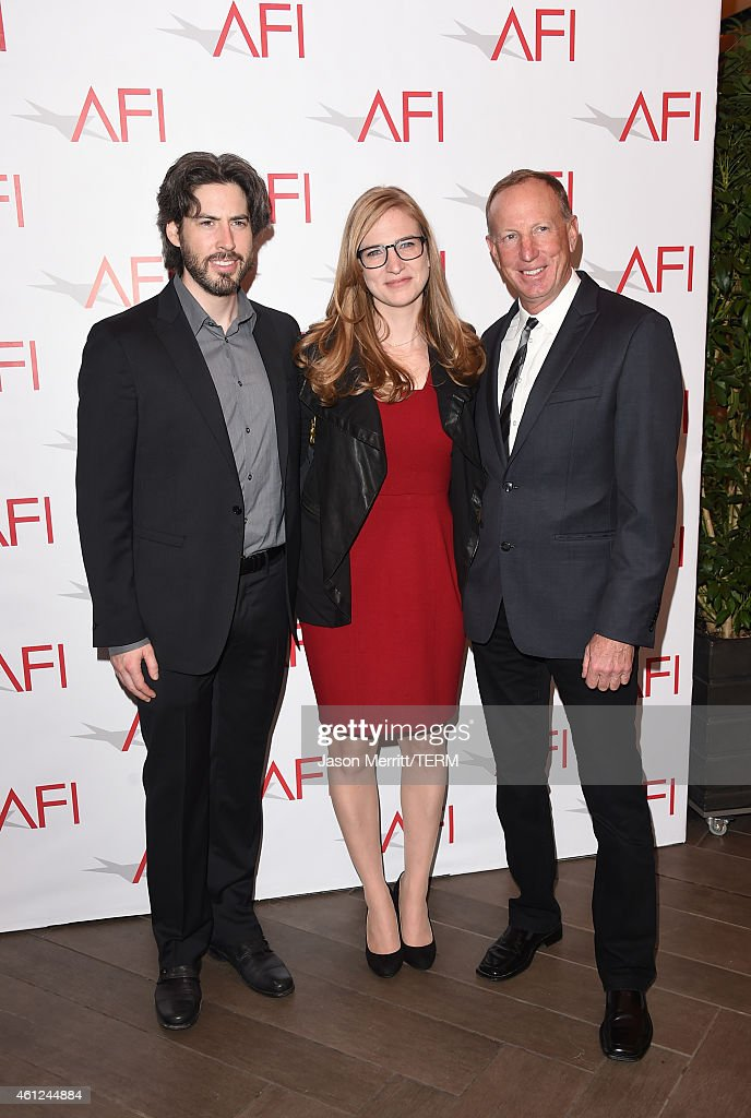 Filmmaker Jason Reitman (L) and guests attend the 15th Annual AFI Awards at Four Seasons Hotel Los Angeles at Beverly Hills on January 9, 2015 in Beverly Hills, California.
