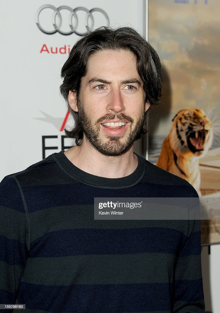 Filmmaker <a gi-track='captionPersonalityLinkClicked' href=/galleries/search?phrase=Jason+Reitman&family=editorial&specificpeople=627880 ng-click='$event.stopPropagation()'>Jason Reitman</a> arrives at the 'Los Angeles Times Young Hollywood' Panel during 2012 AFI Fest 2012 presented by Audi at Grauman's Chinese Theatre on November 2, 2012 in Hollywood, California.