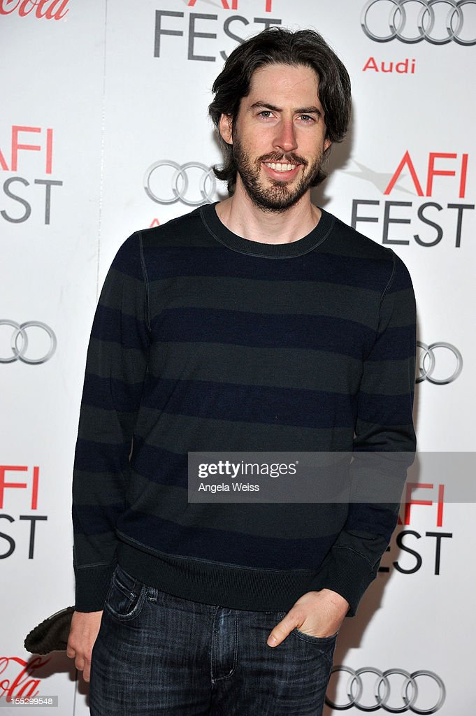 Filmmaker <a gi-track='captionPersonalityLinkClicked' href=/galleries/search?phrase=Jason+Reitman&family=editorial&specificpeople=627880 ng-click='$event.stopPropagation()'>Jason Reitman</a> arrives at the 'Los Angeles Times Young Hollywood' Panel during AFI Fest 2012 presented by Audi at Grauman's Chinese Theatre on November 2, 2012 in Hollywood, California.