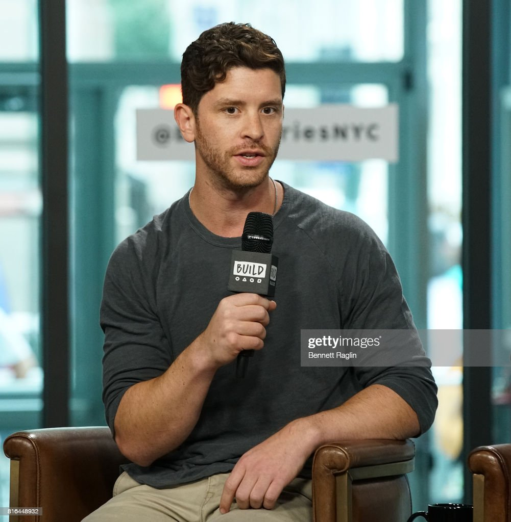 Filmmaker Jason Zeldes attends Build to discuss the documentary 'Romeo Is Bleeding' at Build Studio on July 17, 2017 in New York City.