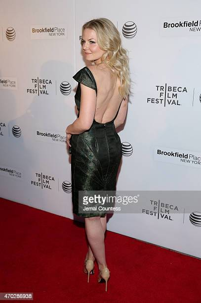 Filmmaker Jennifer Morrison attends the premiere of 'Warning Labels' at the Interference Shorts Program during the 2015 Tribeca Film Festival at...
