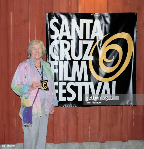 Filmmaker Jennifer Townsend appears at the closing party for the Santa Cruz Film Festival at Tannery Arts Center on October 15 2017 in Santa Cruz...