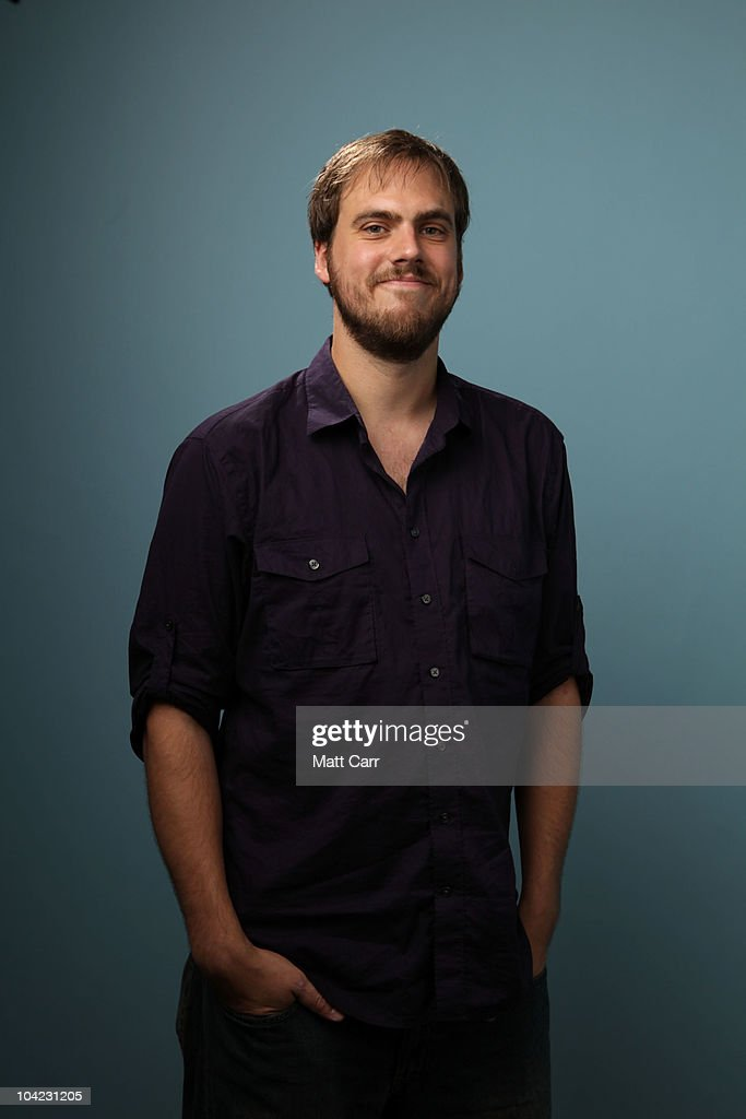 Filmmaker Jim Mickle from 'Stake Land' poses for a portrait during the 35th Toronto International Film Festival on September 17, 2010 in Toronto, Canada.