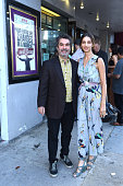 Filmmaker Joe Berlinger and actress Angela Sarafyan attend the celebration of the release of Joe Berlinger / Tony Robbins documentary 'I Am Not Your...