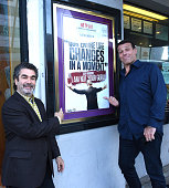 Filmmaker Joe Berlinger and Tony Robbins attend the celebration of the release of Joe Berlinger / Tony Robbins documentary 'I Am Not Your Guru' now...