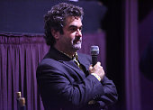 Filmmaker Joe Berlinger speaks during a QA at the celebration of the release of Joe Berlinger / Tony Robbins documentary 'I Am Not Your Guru' now...