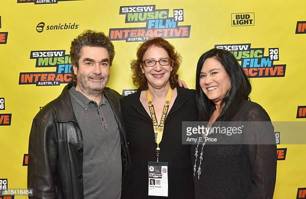 Filmmaker Joe Berlinger SXSW Film Director Janet Pierson and filmmaker Barbara Kopple attend 'A Conversation with Barbara Kopple and Joe Berlinger'...