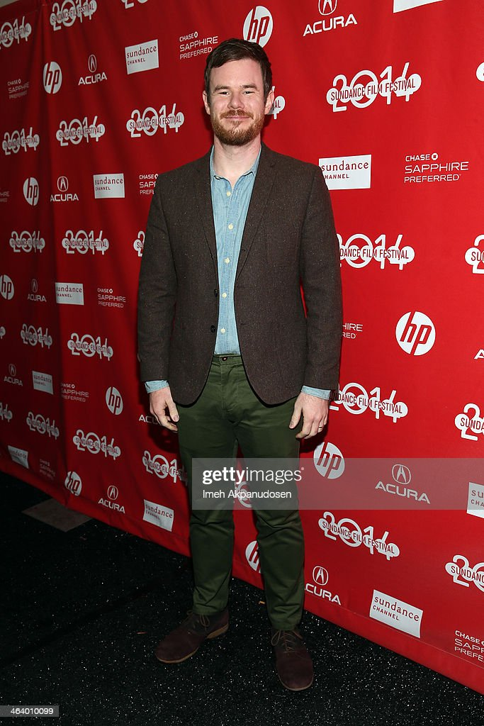 Filmmaker Joe Swanberg attends the 'Happy Christmas' premiere at Library Center Theater during the 2014 Sundance Film Festival on January 19, 2014 in Park City, Utah.