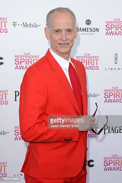 Filmmaker John Waters attends the 2013 Film Independent Spirit Awards at Santa Monica Beach on February 23 2013 in Santa Monica California