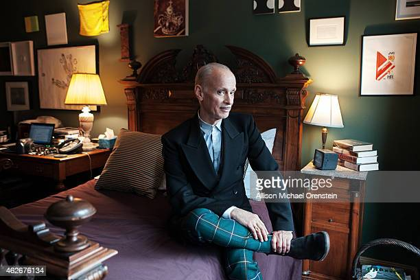 Filmmaker John Waters is photographed for Wall Street Journal on January 5 2015 in New York City PUBLISHED IMAGE
