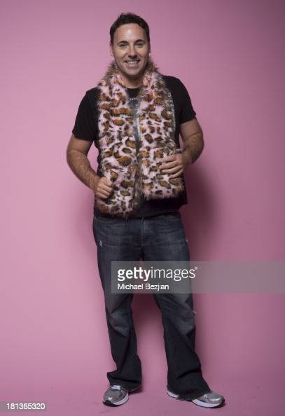Filmmaker Josh Mitchell poses for a portrait at the Mark Kearney Group 'Iced Out' Luxury Emmy Suite on September 20 2013 in Los Angeles California