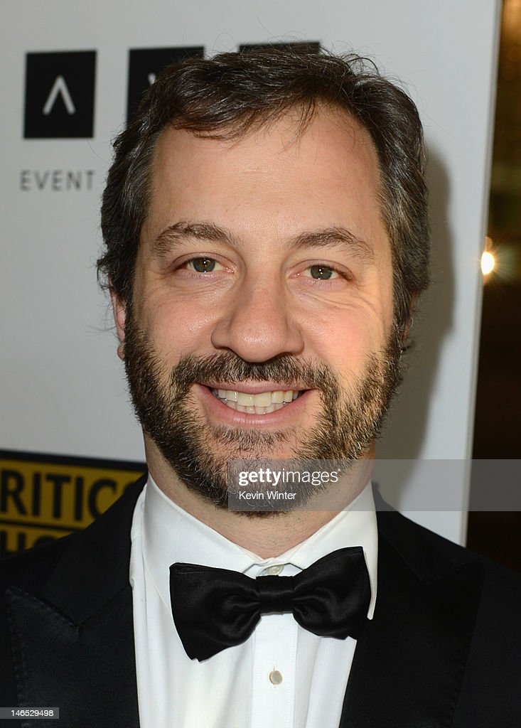 Filmmaker <a gi-track='captionPersonalityLinkClicked' href=/galleries/search?phrase=Judd+Apatow&family=editorial&specificpeople=854225 ng-click='$event.stopPropagation()'>Judd Apatow</a> arrives at Broadcast Television Journalists Association Second Annual Critics' Choice Awards at The Beverly Hilton Hotel on June 18, 2012 in Beverly Hills, California.