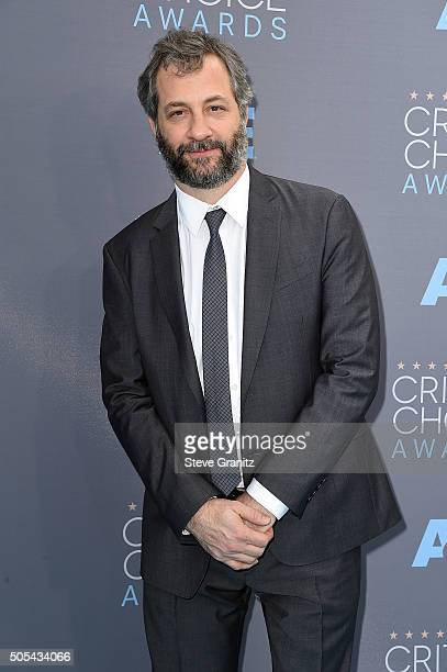Filmmaker Judd Apatow attends the 21st Annual Critics' Choice Awards at Barker Hangar on January 17 2016 in Santa Monica California