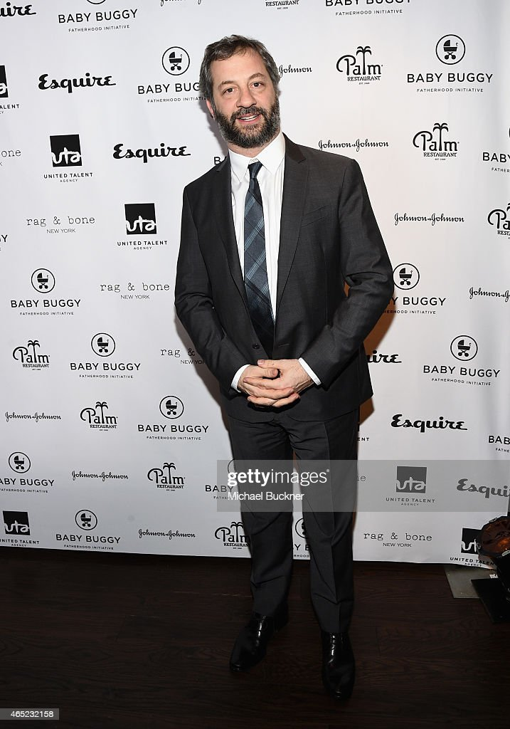 Filmmaker Judd Apatow attends the Inaugural Los Angeles Fatherhood Lunch to Benefit Baby Buggy hosted by Jerry Seinfeld at The Palm Restaurant on...