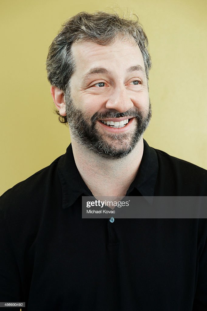 Filmmaker <a gi-track='captionPersonalityLinkClicked' href=/galleries/search?phrase=Judd+Apatow&family=editorial&specificpeople=854225 ng-click='$event.stopPropagation()'>Judd Apatow</a> is photographed at the Vanity Fair New Establishment Summit on October 8, 2014 in San Francisco, California.