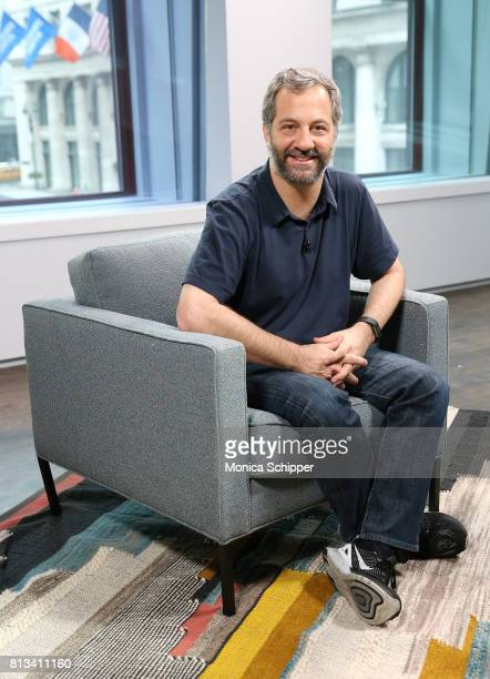 Filmmaker Judd Apatow visits LinkedIn Studios on July 12 2017 in New York City