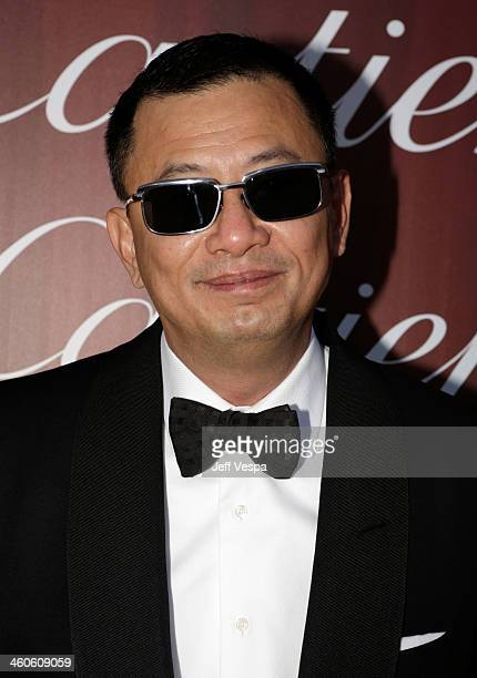 Filmmaker Kar Wai Wong arrives at the 25th annual Palm Springs International Film Festival awards gala at Palm Springs Convention Center on January 4...