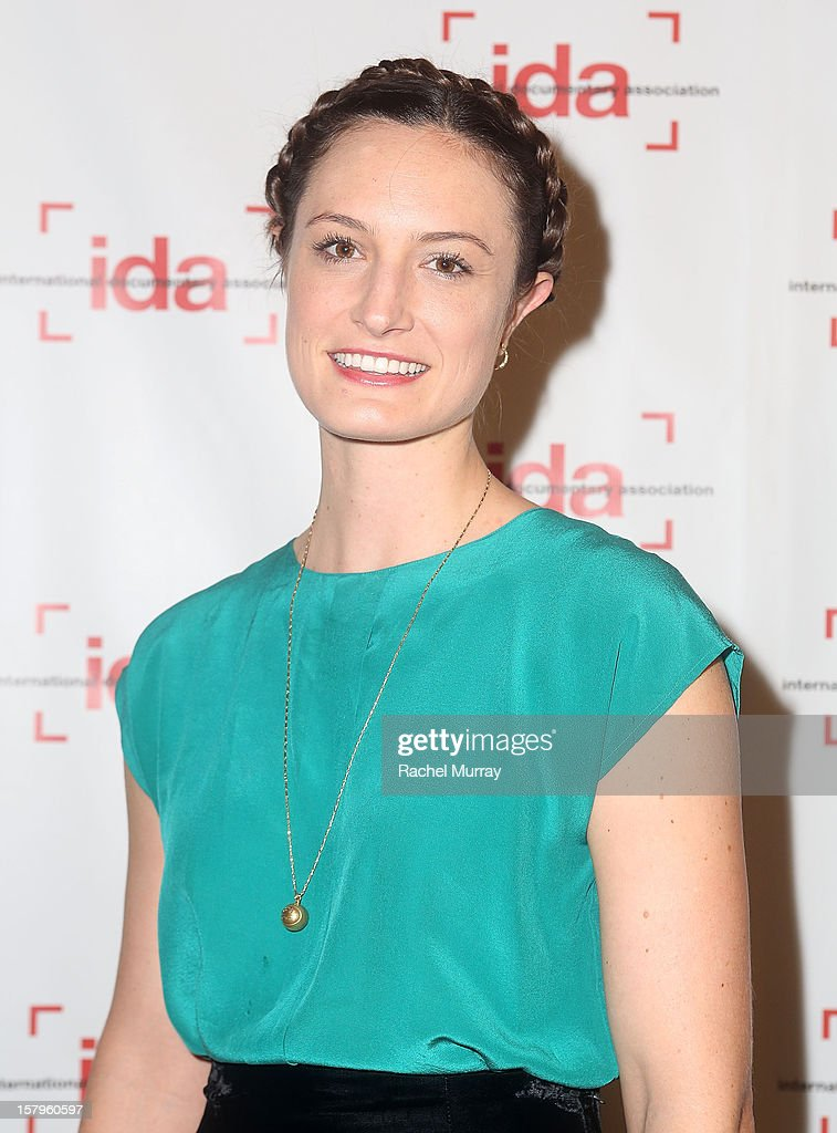Filmmaker Katherine Fairfax Wright attends the International Documentary Association's 2012 IDA Documentary Awards at DGA Theater on December 7, 2012 in Los Angeles, California.