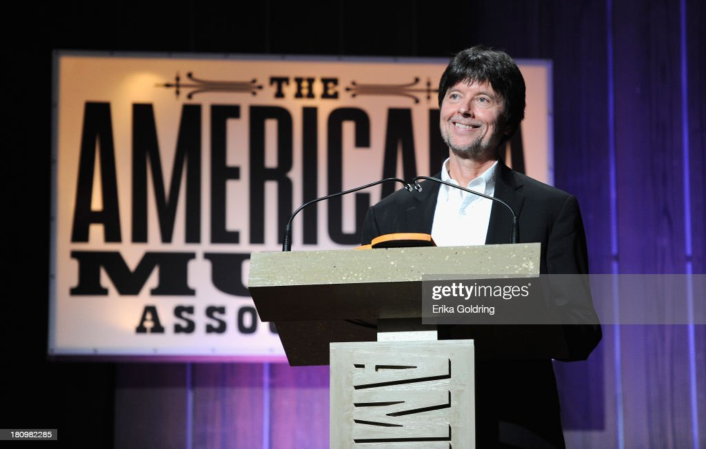 Filmmaker <a gi-track='captionPersonalityLinkClicked' href=/galleries/search?phrase=Ken+Burns&family=editorial&specificpeople=220451 ng-click='$event.stopPropagation()'>Ken Burns</a> performs at the 12th Annual Americana Music Honors And Awards Ceremony Presented By Nissan on September 18, 2013 in Nashville, Tennessee.