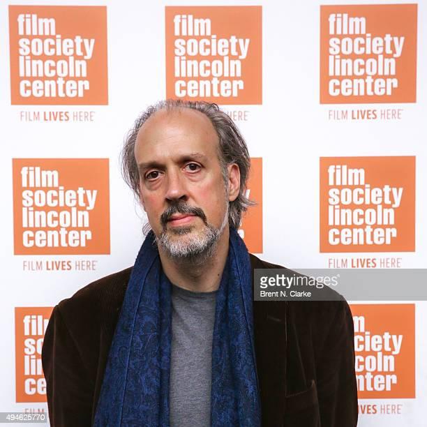 Filmmaker Kent Jones attends the 'Hitchcock/Truffaut' New York screening held at The Film Society of Lincoln Center Walter Reade Theatre on October...