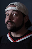 Filmmaker Kevin Smith of 'Yoga Hosers' poses for a portrait at the 2016 Sundance Film Festival on January 24 2016 in Park City Utah
