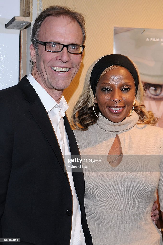 """Sundance Channel HQ Hosts An Artist Talk with Mary J. Blige For """"The Invisible War"""" - 2012 Park City"""