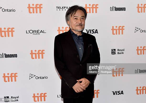 Filmmaker Kiyoshi Kurosawa attends the 'Daguerrotype' premiere during the 2016 Toronto International Film Festival at Winter Garden Theatre on...
