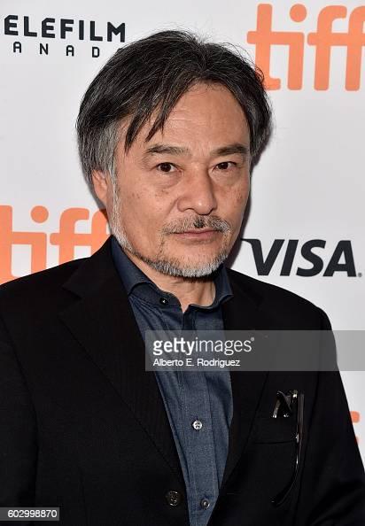 Filmmaker Kiyoshi Kurosawa attends the 'Daguerrotype' premiere during the 2016 Toronto International Film Festival at Winter Garden Theatre on...