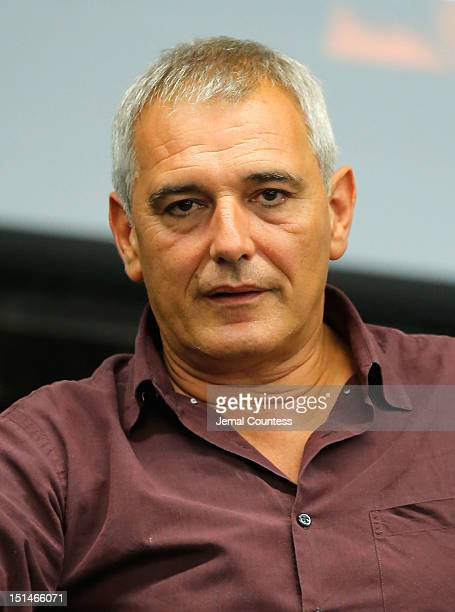 Filmmaker Laurent Cantet speaks at Talent Lab Day 1 during the 2012 Toronto International Film Festival at RBC Centre on September 7 2012 in Toronto...