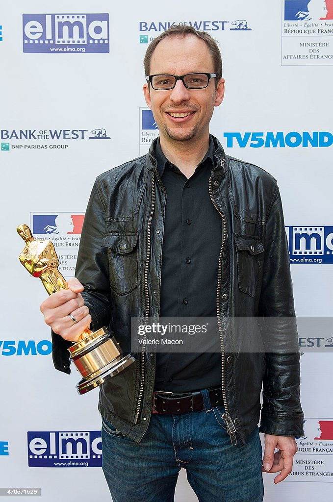 Filmmaker <a gi-track='captionPersonalityLinkClicked' href=/galleries/search?phrase=Laurent+Witz&family=editorial&specificpeople=12433553 ng-click='$event.stopPropagation()'>Laurent Witz</a> attends The Consul General Of France, Mr. Axel Cruau, Honors The French Nominees For The 86th Annual Academy Awards party on March 3, 2014 in Beverly Hills, California.